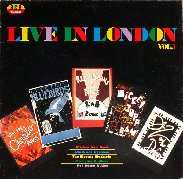 Various - Live In London (Vol. 1) (LP, Album) - USED