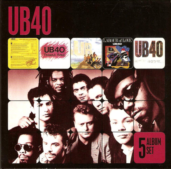 UB40 - 5 Album Set (Box, Comp + CD, Album + CD, Album + CD, Album + CD) - USED