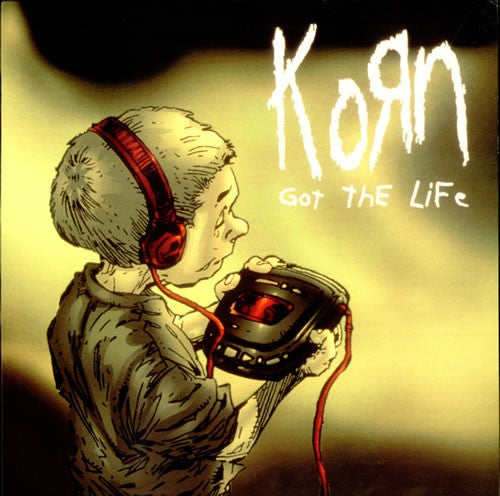 "Korn - Got The Life (12"") - USED"