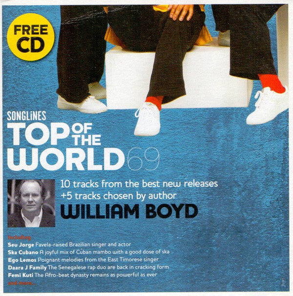 Various / William Boyd - Songlines: Top Of The World 69 (CD, Comp, Promo) - USED