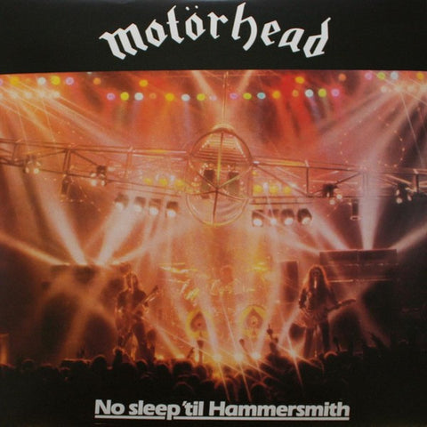 Motörhead - No Sleep 'Til Hammersmith (CD, Comp, RE) - USED