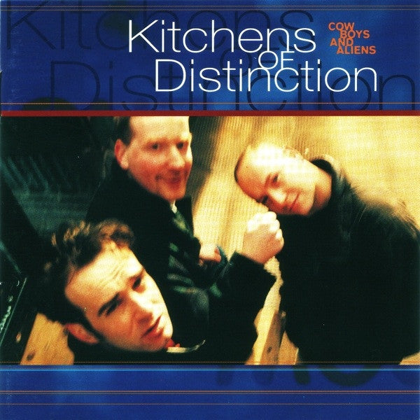 Kitchens Of Distinction - Cowboys And Aliens (CD, Album, Promo) - USED