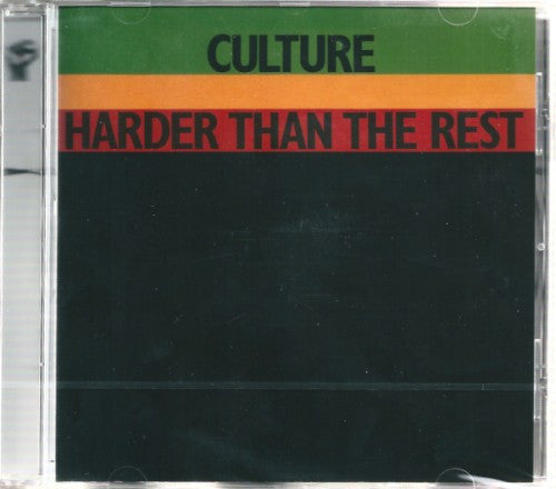 Culture - Harder Than The Rest (CD, Album, RE, RM) - NEW