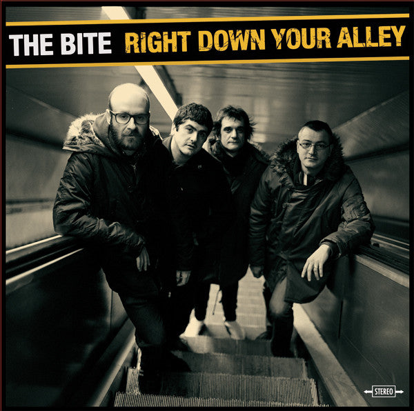 The Bite (2) - Right Down Your Alley (LP, Album) - NEW