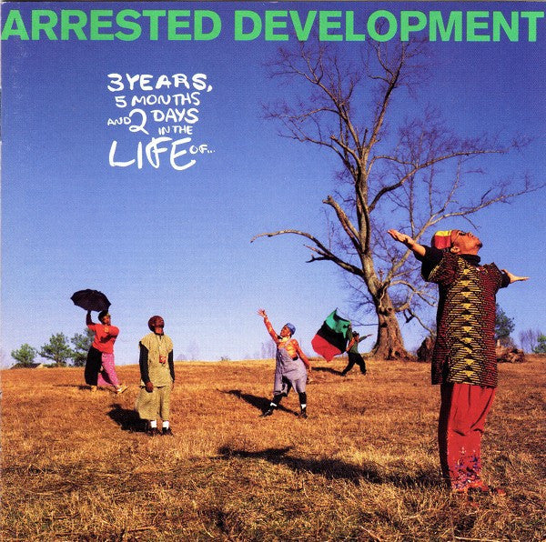 Arrested Development - 3 Years, 5 Months And 2 Days In The Life Of... (CD, Album) - USED