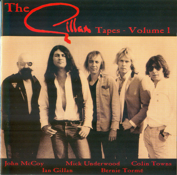 Gillan - The Gillan Tapes - Volume 1 (CD, Comp, Arc) - USED