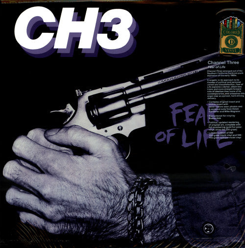 CH3* - Fear Of Life (LP, Album, Ltd, Num, RE, RM, Lav) - NEW