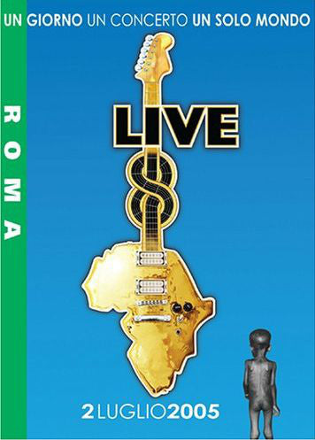 Various - Live 8 Roma (DVD, PAL, All) - USED