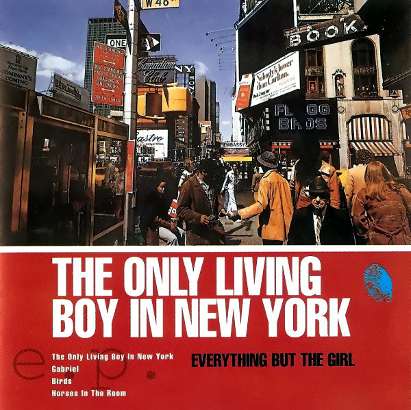 Everything But The Girl - The Only Living Boy In New York E.P. (CD, EP) - USED