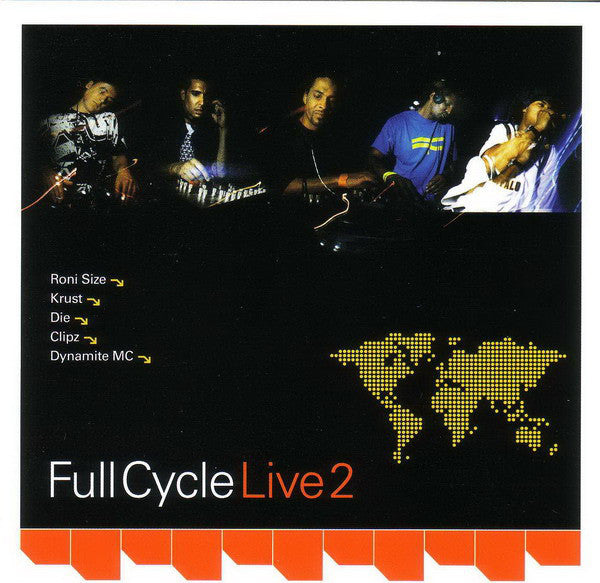 Various - Full Cycle Live 2 (CD, Mixed) - USED