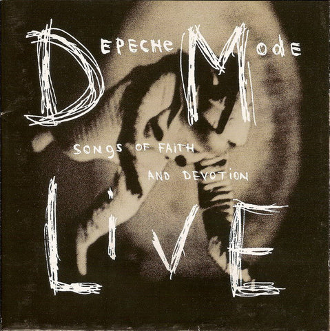 Depeche Mode - Songs Of Faith And Devotion (Live) (CD, Album) - USED