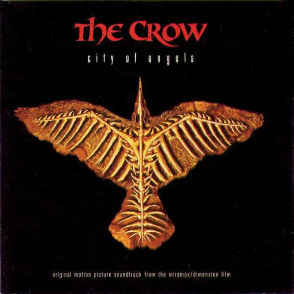 Various - The Crow: City Of Angels (Original Motion Picture Soundtrack) (CD, Album, Comp) - USED