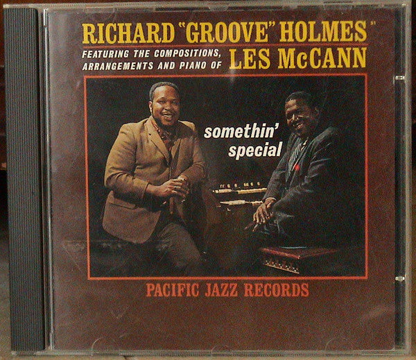 "Richard ""Groove"" Holmes / Les McCann - Somethin' Special (CD) - USED"