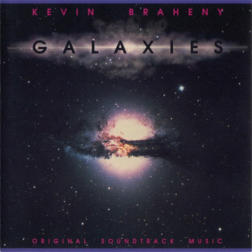 Kevin Braheny - Galaxies (Original Soundtrack Music) (CD, Album) - USED
