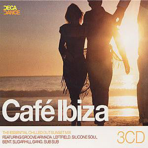 Various - Cafe Ibiza (3xCD, Comp, Mixed) - USED