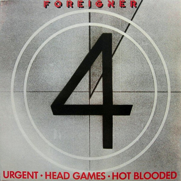 "Foreigner - Urgent (12"") - USED"
