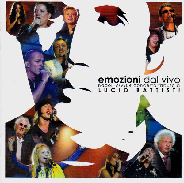Various - Emozioni Dal Vivo (Napoli 9/9/04 Concerto Tributo A Lucio Battisti) (CD, Comp) - USED