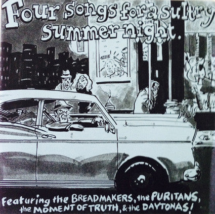 "Various - Four Songs For A Sultry Summer Night (7"", EP) - USED"