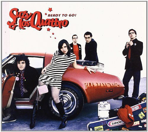 Suzy & Los Quattro - Ready To Go (CD, Album) - USED