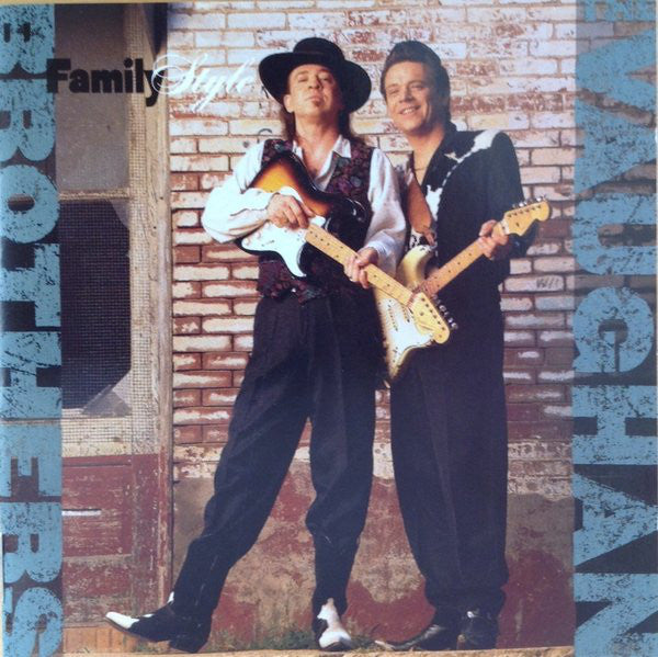 The Vaughan Brothers - Family Style (CD, Album) - USED