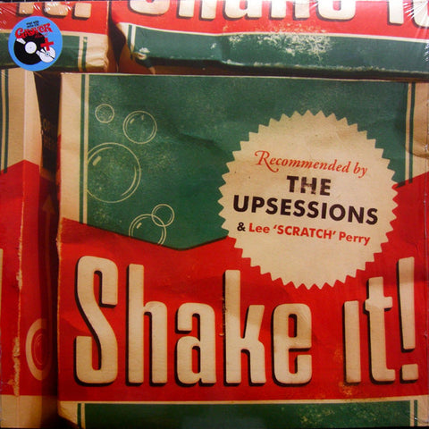 "The Upsessions & Lee ""Scratch"" Perry* - Shake It! (LP, Album + CD, Album, Bon) - NEW"