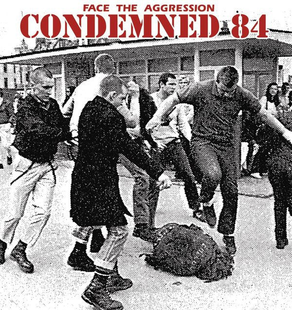 Condemned 84 - Face The Aggression (LP, Album, Ltd, RE) - NEW