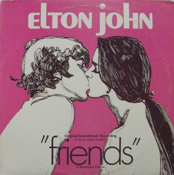 Elton John - Friends (LP, Album, RP, She) - USED