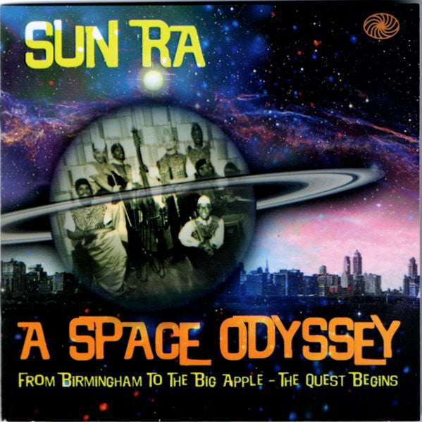 Sun Ra - A Space Odyssey (3xCD, Comp, Dig) - NEW