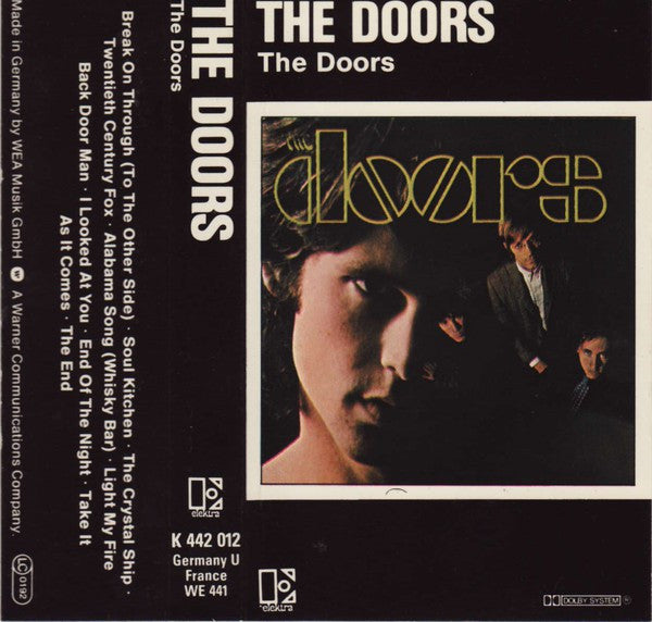 The Doors - The Doors (Cass, Album) - NEW