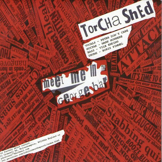 "Torcha Shed / Neon Maniacs - Meet Me In George Bar / Zombie (7"") - USED"