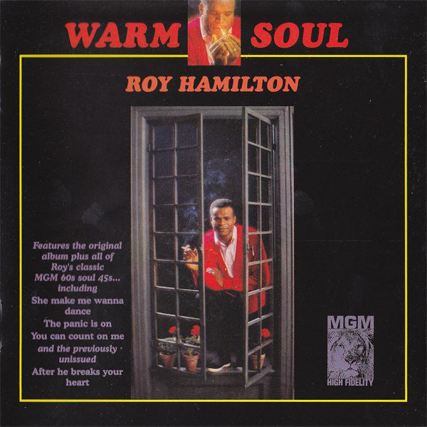 Roy Hamilton (5) - Warm Soul (CD, Album, RE) - USED