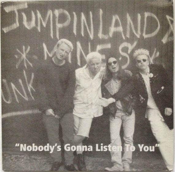 "Jumpin Land Mines - Nobody's Gonna Listen To You (10"", Album, Sil) - USED"