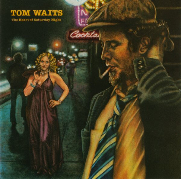 Tom Waits - The Heart Of Saturday Night (CD, Album, RE, RP) - USED