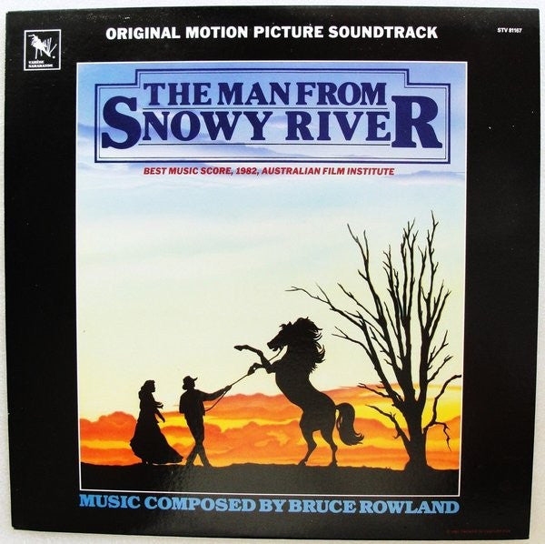 Bruce Rowland (2) - The Man From Snowy River (LP, Album) - USED