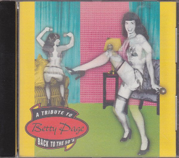 Various - A Tribute To Betty Page | Back To The 50's (CD, Comp) - USED