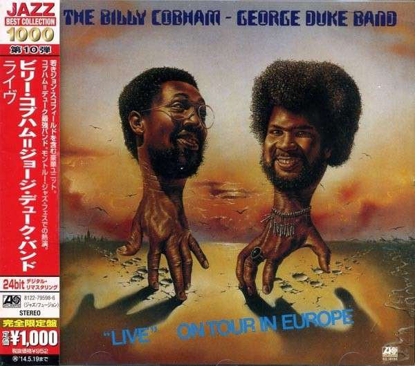 "The Billy Cobham / George Duke Band - ""Live"" On Tour In Europe (CD, Album, RE, RM) - USED"