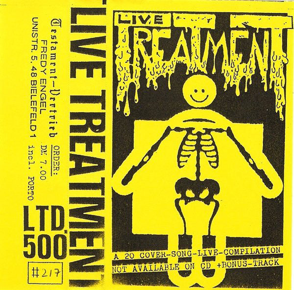 Various - Live Treatment (Cass, Comp, Ltd, Num, C60) - USED