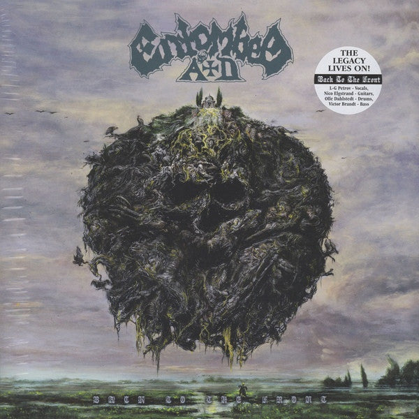 Entombed A.D. - Back To The Front (LP, Album) - NEW