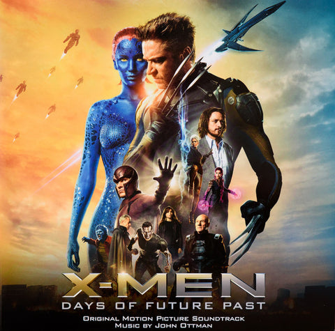 John Ottman - X-Men: Days Of Future Past (Original Motion Picture Soundtrack) (LP, Cle + LP, Cle + Album, Ltd, Num) - NEW