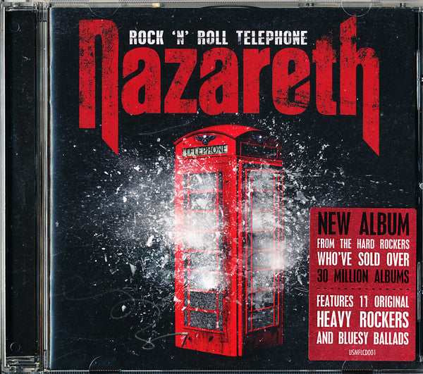Nazareth (2) - Rock 'N' Roll Telephone (CD, Album) - USED