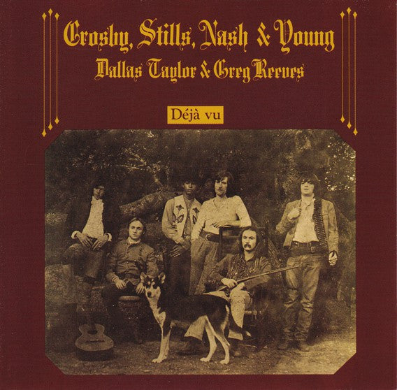 Crosby, Stills, Nash & Young - Déjà Vu (CD, Album, RE, RM) - USED