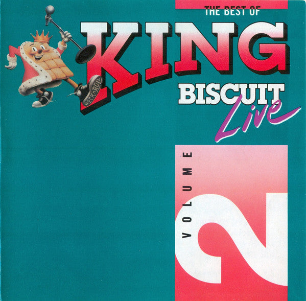 Various - The Best Of King Biscuit Live - Volume 2 (CD, Comp) - USED