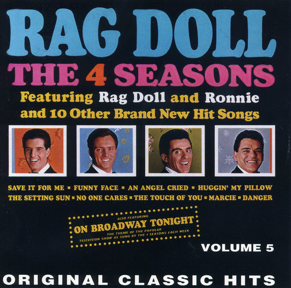 The 4 Seasons* - Rag Doll And 11 Other Hits - Volume 5 (CD, Album, RE) - USED
