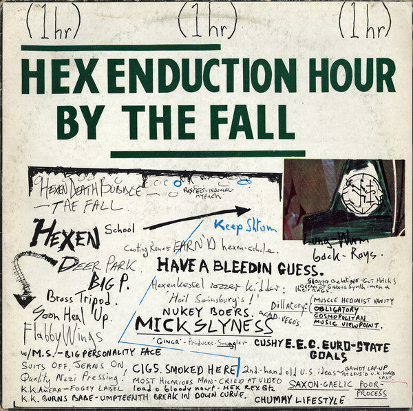 The Fall - Hex Enduction Hour (LP, Album) - USED