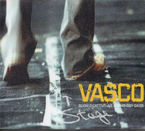 Vasco* - Buoni O Cattivi Live Anthology 04.05 (2xCD, Album) - USED