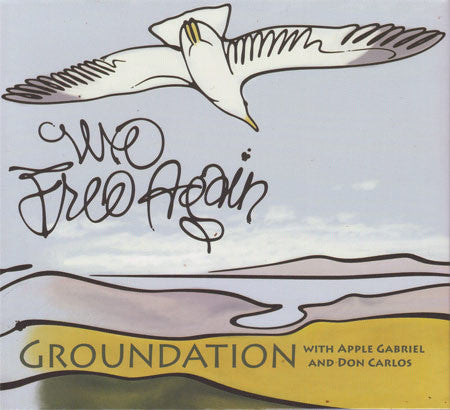 Groundation With Apple Gabriel & Don Carlos (2) - We Free Again (CD) - USED