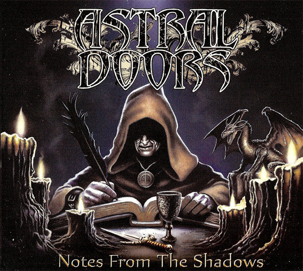 Astral Doors - Notes From The Shadows (CD, Album, Dig) - USED