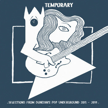 Various - Temporary - Selections From Dunedin's Pop Underground 2011-2014 (LP, Comp) - USED