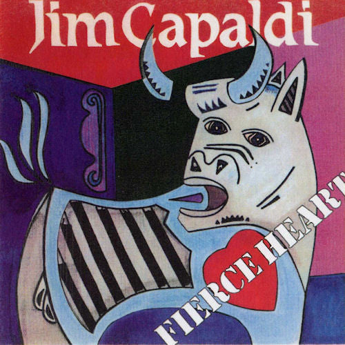 Jim Capaldi - Fierce Heart (LP, Album, RE) - USED