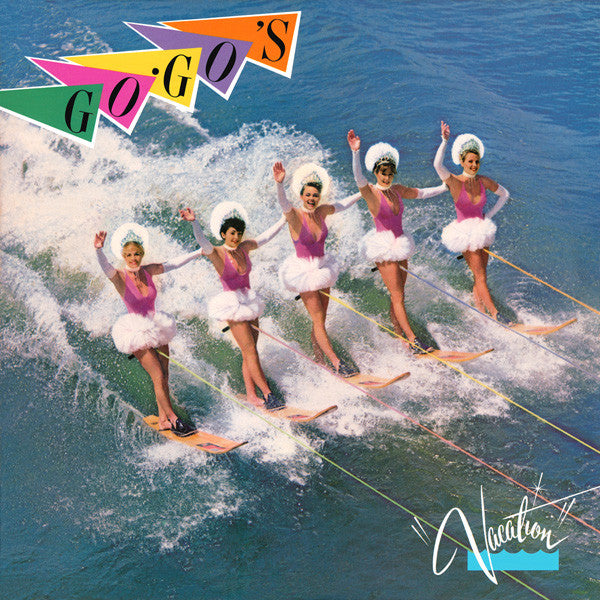 Go-Go's - Vacation (LP, Album, Mon) - USED